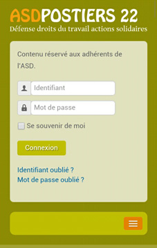 Version mobile site ASD 22 MangOO Médias Web